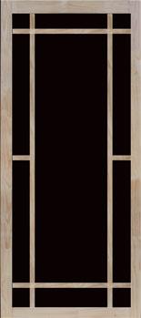 Durango Hnged Wood Screen Door
