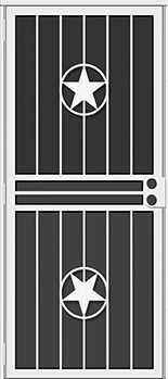 Lonestar All Season Security Door