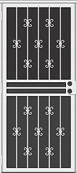 Moorishlace All Season Security Door