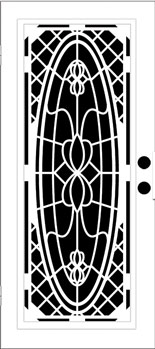 Queen Mary Aluminum Door