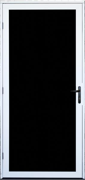 Surface mount ultimate screen door titan security security screen door products - Meshtec screen door ...
